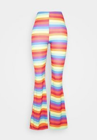 PRIDE RAINBOW FLARES - Leggings - Trousers - multi