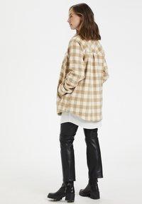 Culture - CUSARIA SHIRT JACKET - Winter jacket - tannin - 2