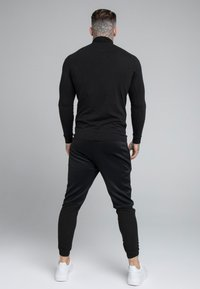 SIKSILK - SIKSILK TRANQUIL TURTLE NECK TEE - Longsleeve - black - 2