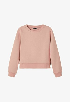 Sweatshirt - ash rose