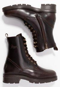 Panama Jack - LILIAN IGLOO - Lace-up ankle boots - marron/brown - 3