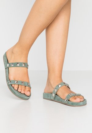 EVIE - Mules - green