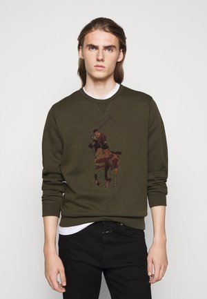 Sweatshirt - company olive