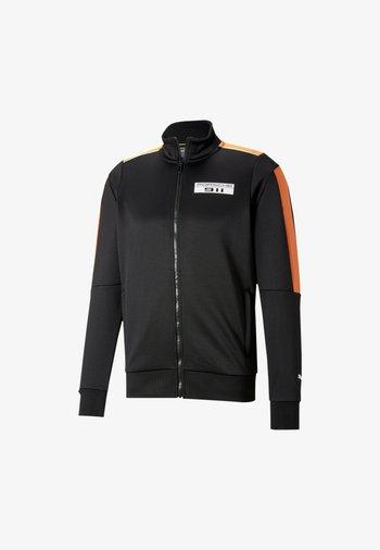 PORSCHE LEGACY T7 - Sweat à capuche zippé - black