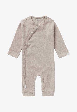 NEVIS - Sleep suit - taupe melange
