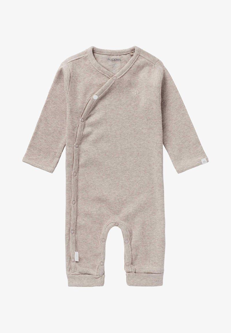 Noppies - NEVIS - Sleep suit - taupe melange