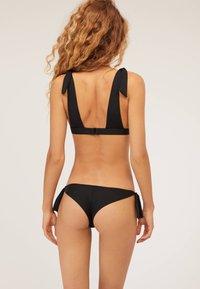 OYSHO - MIT SCHLEIFEN - Bikini bottoms - black - 2