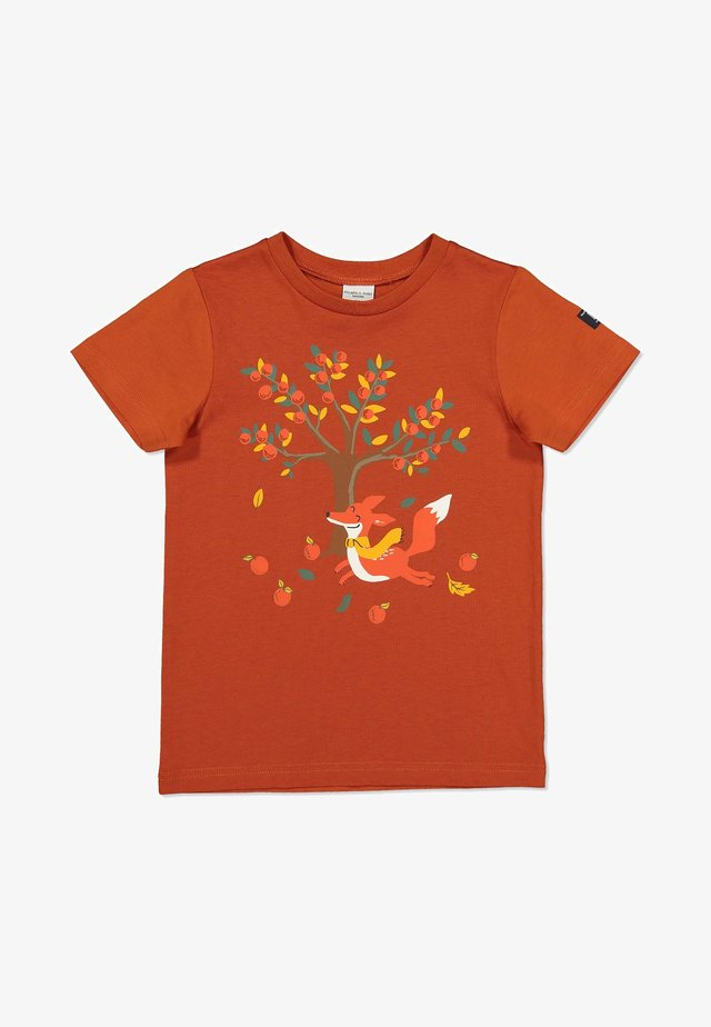 Print T-shirt - rooibos tea