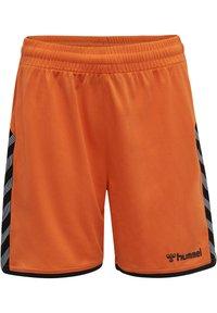 Hummel - HMLAUTHENTIC  - Sports shorts - tangerine - 0