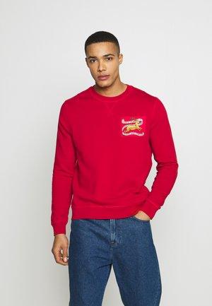 Sweatshirt - bright red