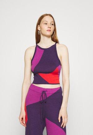 CORSA - Top - purple/orange