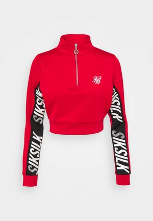CHASER TRACK - Sweatshirt - red