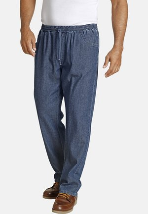 DAAN - Straight leg jeans - darkblue
