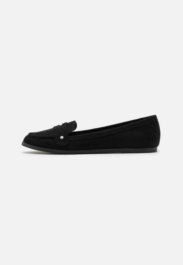 LAUR LOAFER - Slip-ons - black