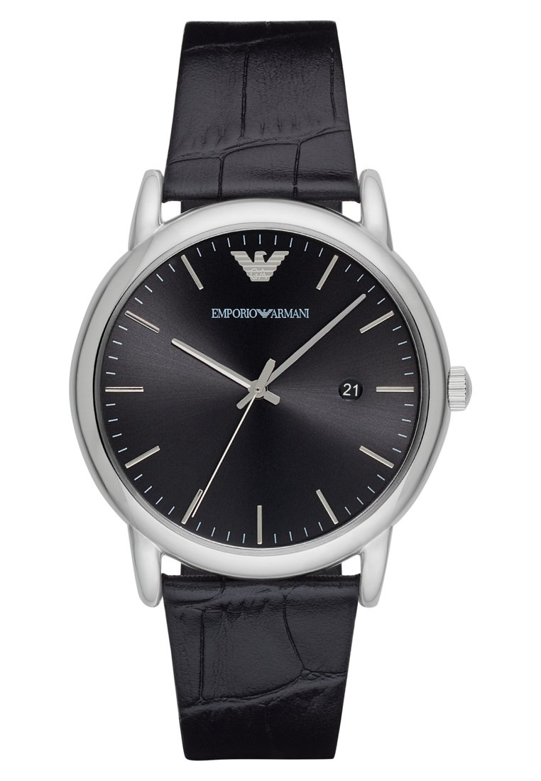 Emporio Armani - Klocka - schwarz