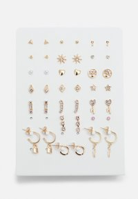 PCQUA EARSTUDS KEY 20 PACK - Náušnice - gold-coloured