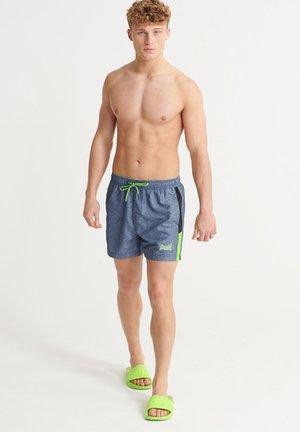 Swimming shorts - darkest navy grit