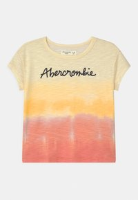 Abercrombie & Fitch - EMBROIDERED LOGO  - Triko s potiskem - multi color - 0