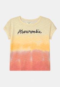 Abercrombie & Fitch - EMBROIDERED LOGO  - Triko spotiskem - multi color - 0