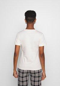 adidas Originals - STRIPES TEE - Print T-shirt - off-white - 2