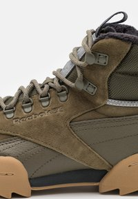 Reebok Classic - EXOFIT UNISEX - Trainers - army green/black - 5