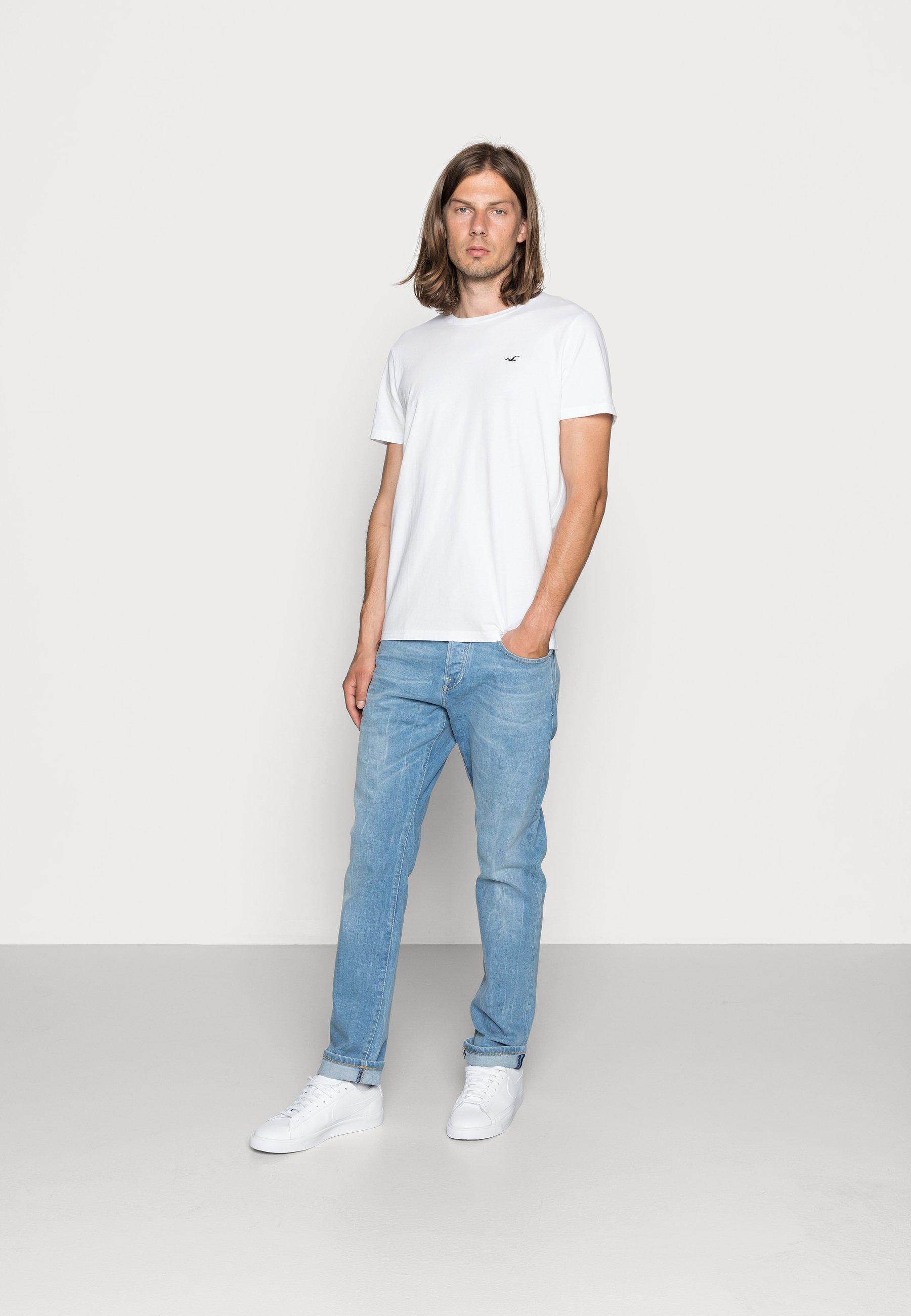 Herrer CREW CHAIN 3 PACK - T-shirts basic