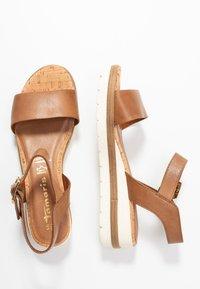 Tamaris - Platform sandals - nut - 1