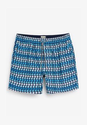 GEO PRINT - Szorty kąpielowe - blue