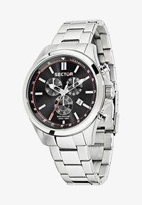 Sector - Chronograph watch - schwarz silber - 1