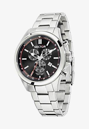 Kronograf - schwarz silber