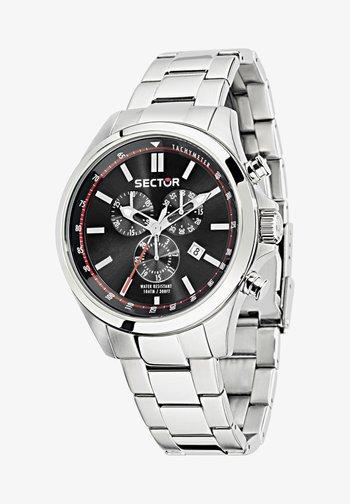 Cronografo - schwarz silber