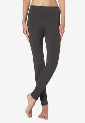 Leggings - Stockings - mottled dark grey