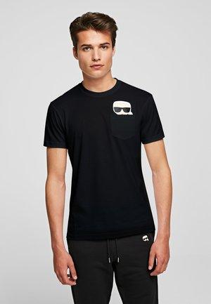 IKONIK  - Camiseta estampada - black