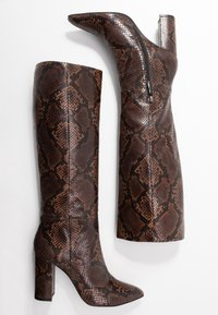 Bruno Premi - High heeled boots - teak - 3