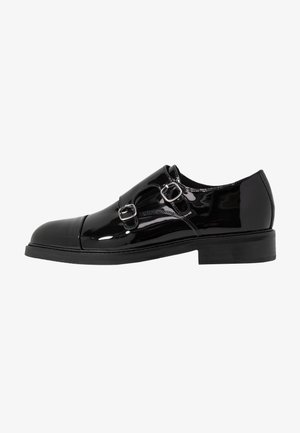 SLHFILIP MONK SHOE - Mocasines - black