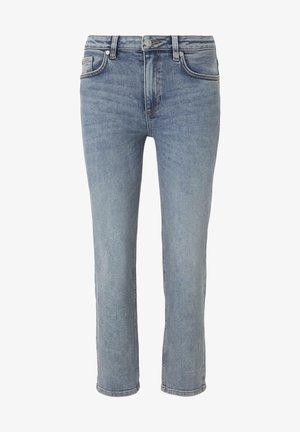 Straight leg jeans - vintage stone wash denim