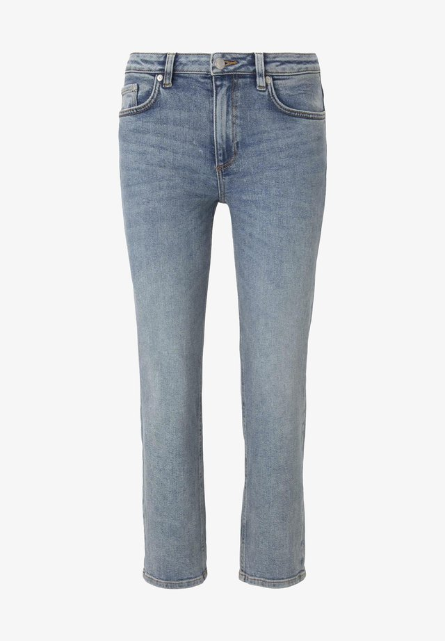 Jeans a sigaretta - vintage stone wash denim
