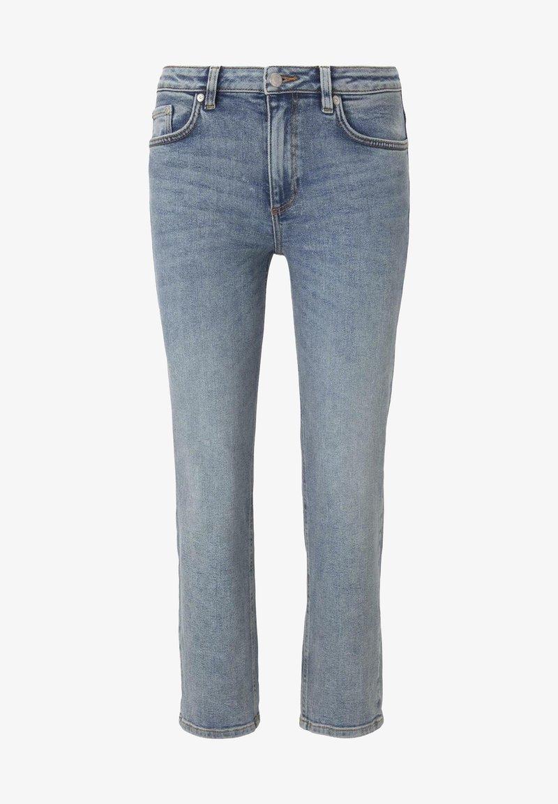 TOM TAILOR - Straight leg jeans - vintage stone wash denim