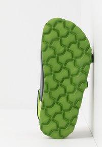 Superfit - FUSSBETTPANTOFFEL - Sandals - blau - 4