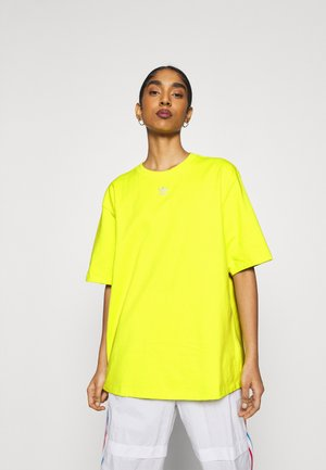 TEE - Basic T-shirt - acid yellow