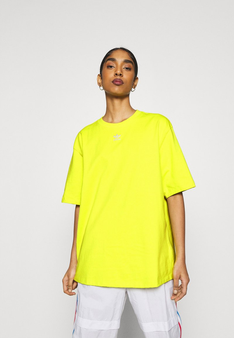 adidas Originals - TEE - T-shirt basic - acid yellow