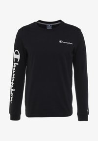 Champion - LONG SLEEVE - Top s dlouhým rukávem - black - 4