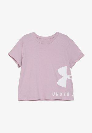 SPORTSTYLE TEE - Print T-shirt - pink fog/white