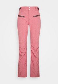 SILVERLAKE MELANGE WOMEN PANT - Ski- & snowboardbukser - pink grape