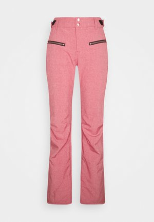 SILVERLAKE MELANGE WOMEN PANT - Schneehose - pink grape