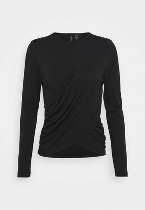 VMPANDA DETAIL - Long sleeved top - black