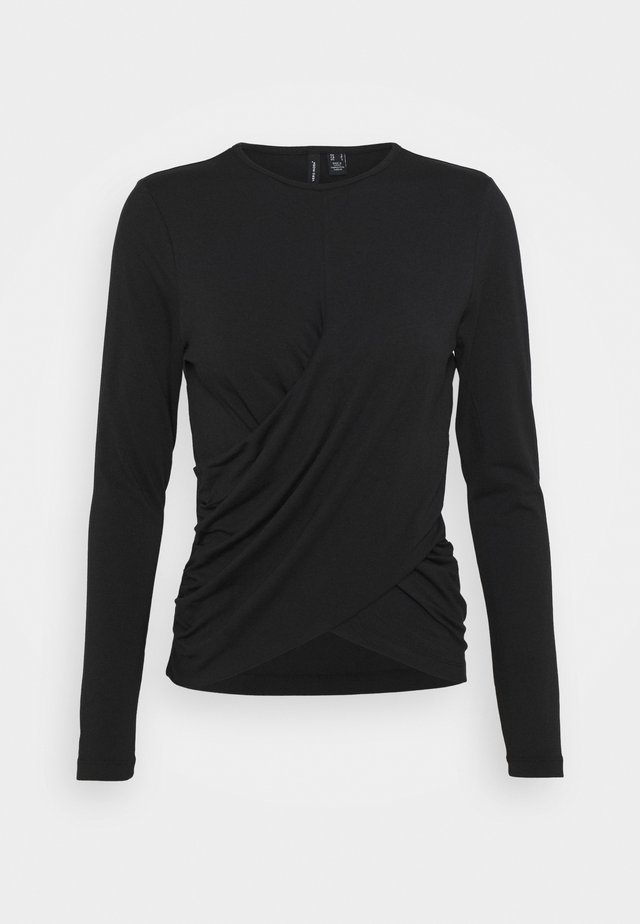 VMPANDA DETAIL - Long sleeved top - black