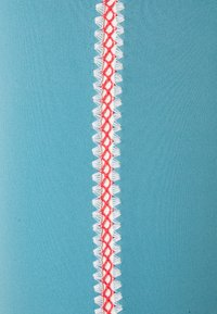 Nike Performance - CROCHET 7/8  - Tights - cerulean/sail/light fusion red/light armory blue - 2