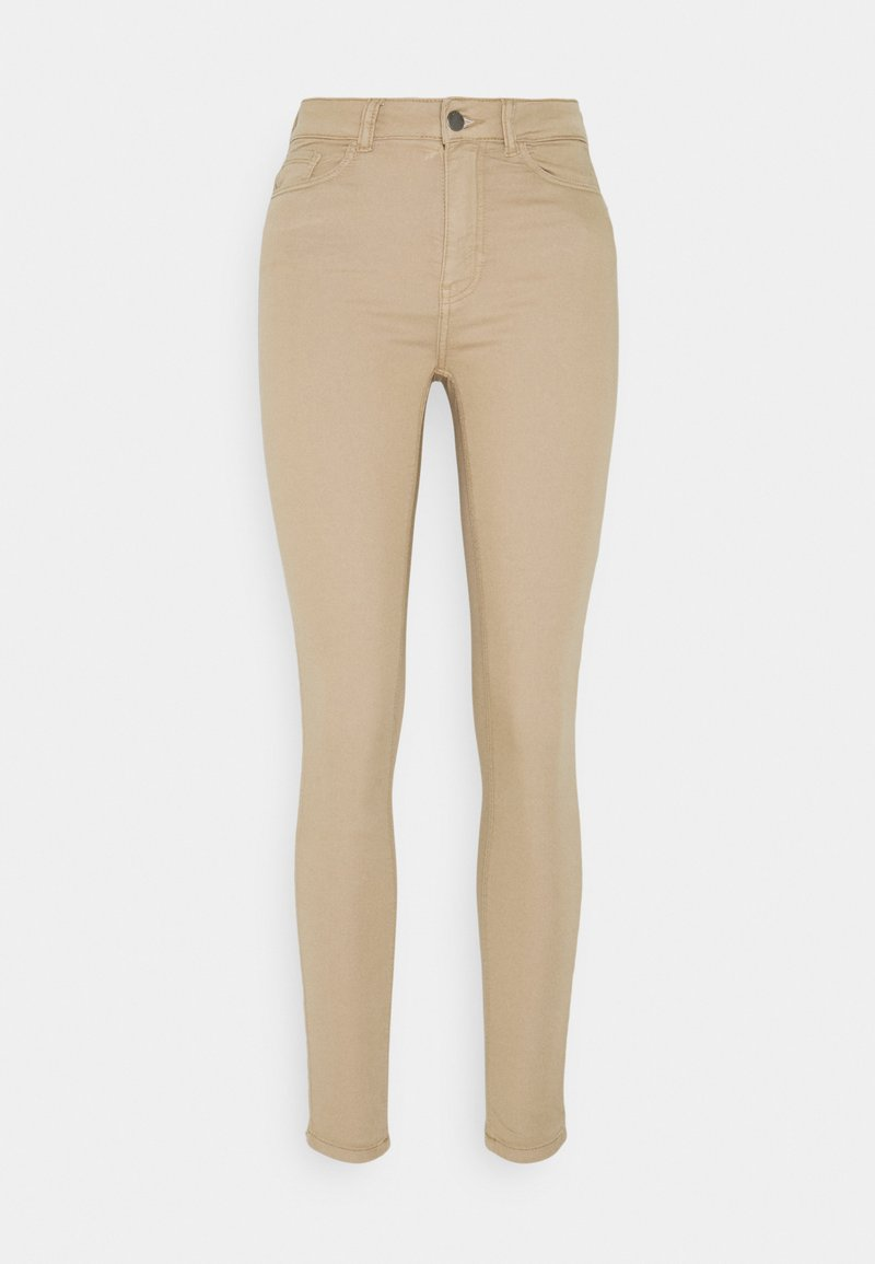 JDY - JDYLARA LIFE - Jeans Skinny Fit - beige