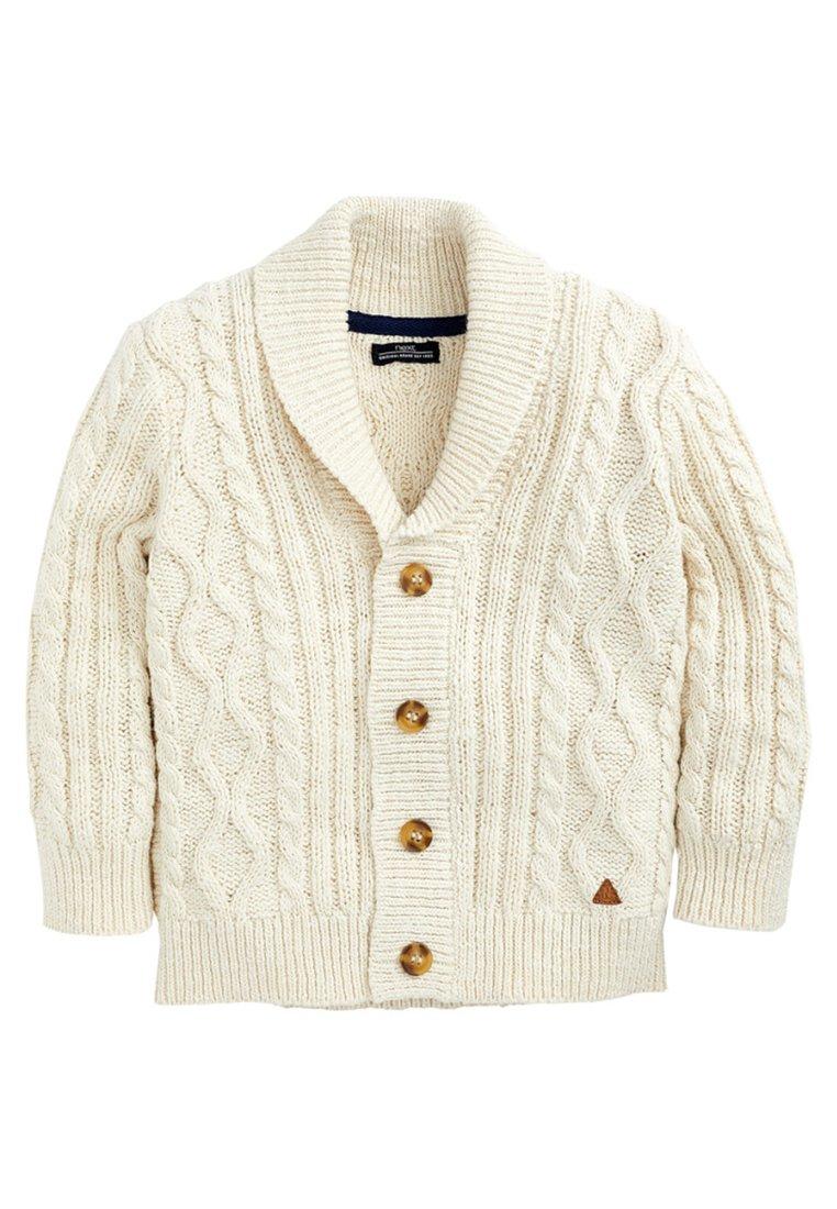 Next - CABLE KNIT - Vest - off-white